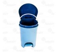 Контейнер для мусора с педалью 7л