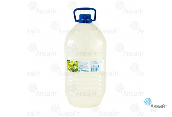 Мыло жидкое для рук Виксан Персик 5л (белое)