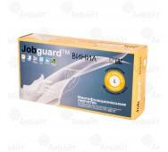 Перчатки виниловые многофункциональные однократного применения Jobguard (размер L), JGVFS104A-L