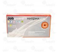 Перчатки нитриловые многофункциональные Jobguard (размер М), JGNFF1B3F-М (100шт/упак)