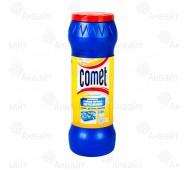 Порошок чистящий с дезинфицирующими свойствами Comet Лимон с хлоринолом 475г