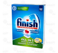 Таблетки для посудомоечных машин FINISH powerball ALL in 1 52шт.