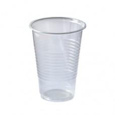 Стакан пластиковый одноразовый эконом 200 мл (100) (42 упак/кор)